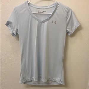 Athletic light blue shirt
